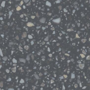 Искусственный акриловый камень Grandex J-511 Terazzo Nero - Modern Acrylic Stone