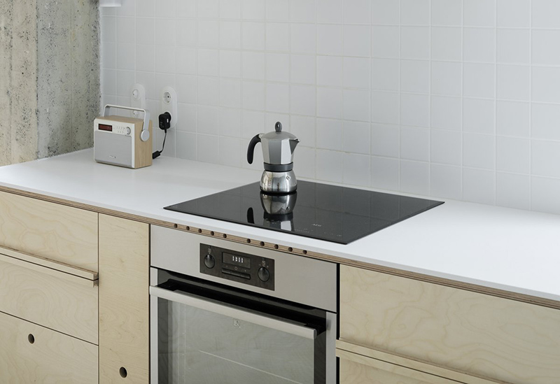 Белая кухонная столешница из акрила — Modern Acrylic Stone