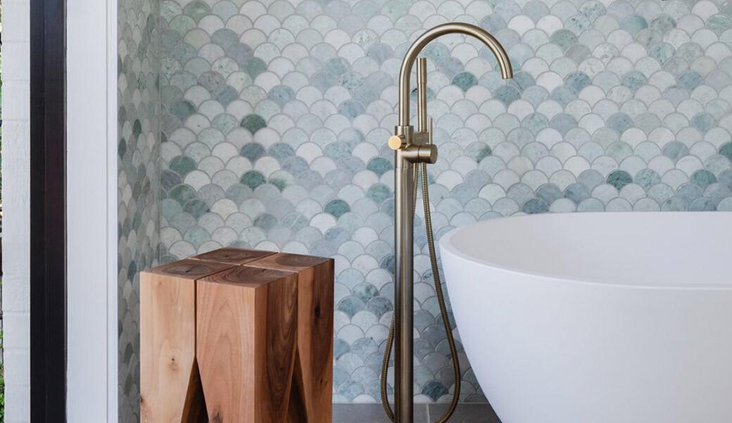 Ванна из искусственного камня для ванной комнаты — Modern Acrylic Stone