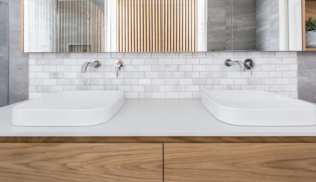 Столешница из искусственного камня для ванной комнаты — Modern Acrylic Stone