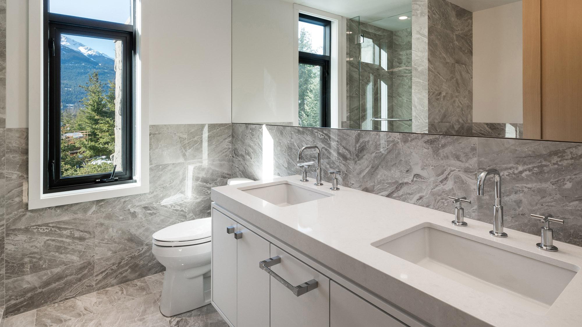Стільниця з кварцового каменю для ванної кімнати — Modern Acrylic Stone