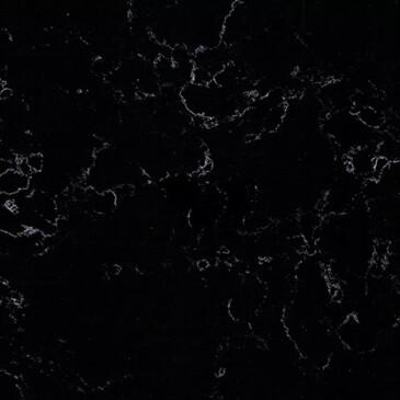 Искусственный кварцевый камень Fasastone FS8181 Misty Black - Modern Acrylic Stone